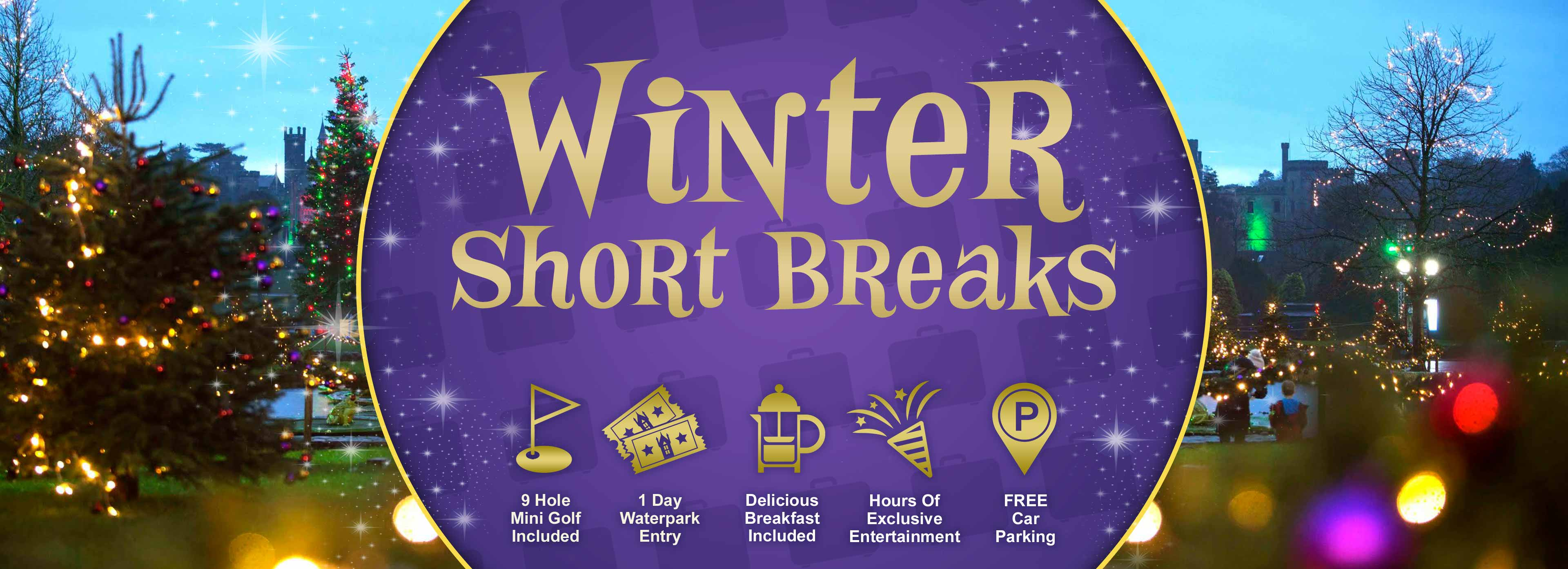 Winter Short Breaks at Alton Towers Resort