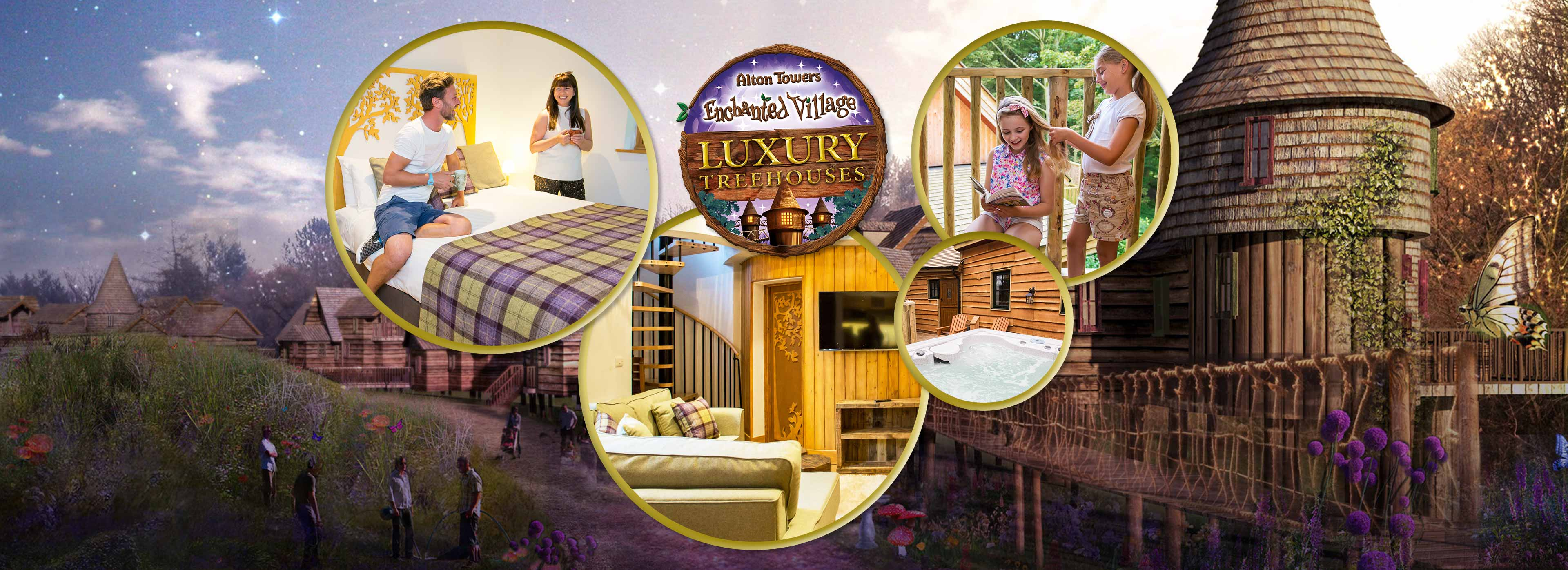 Enchanted Village Luxury Treehouses at the Alton Towers Resort