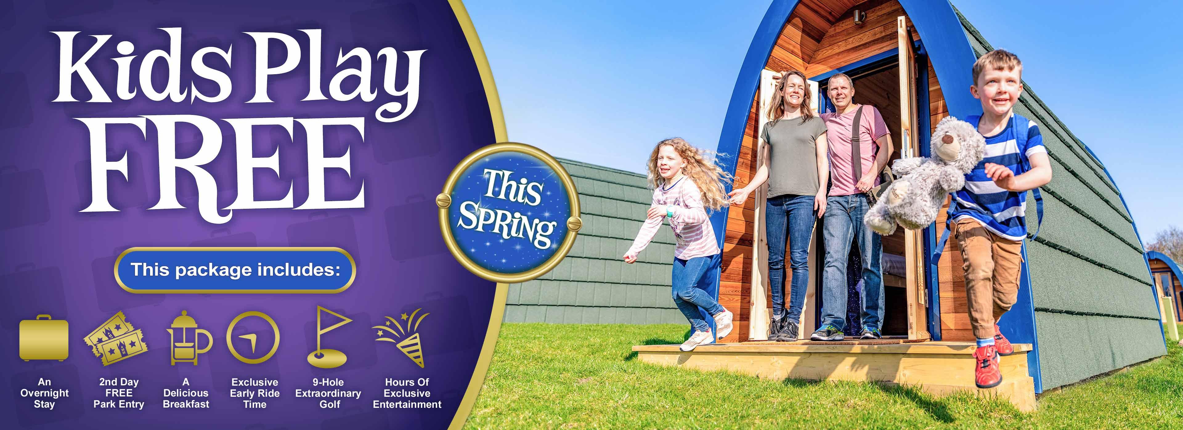 Kids Play FREE this May Half Term at Alton Towers Holidays