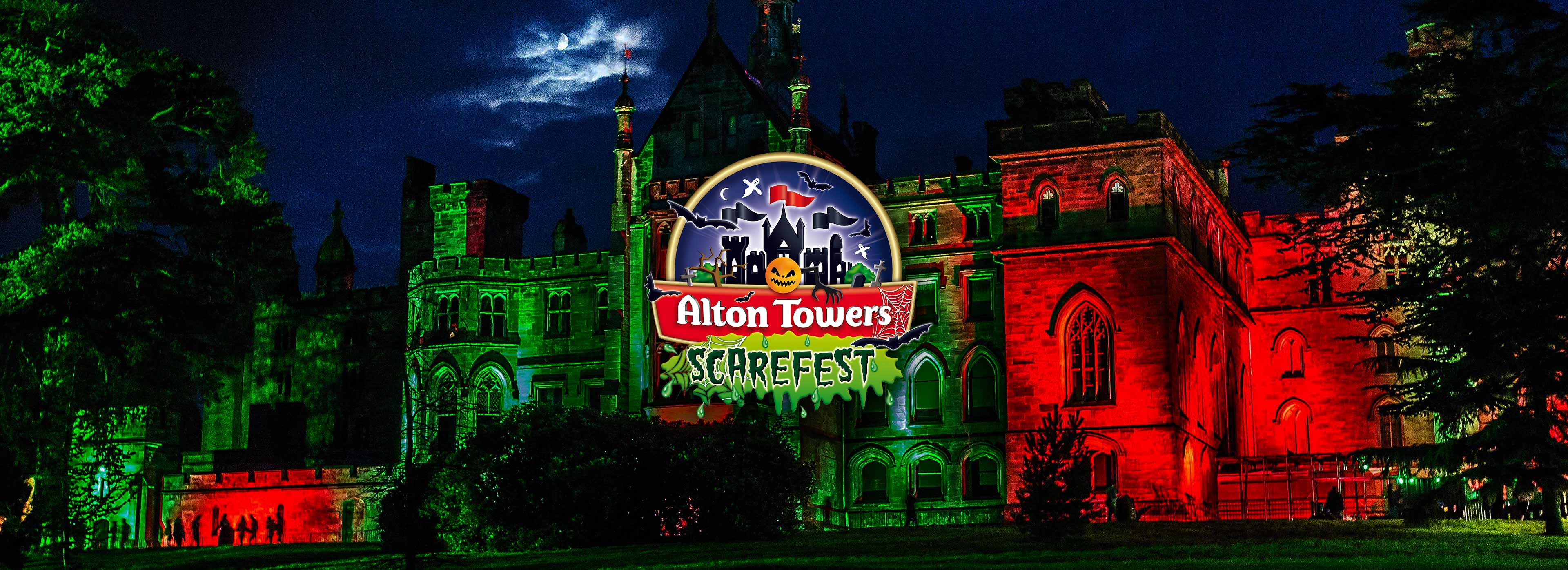 Scarefest at The Alton Towers Resort