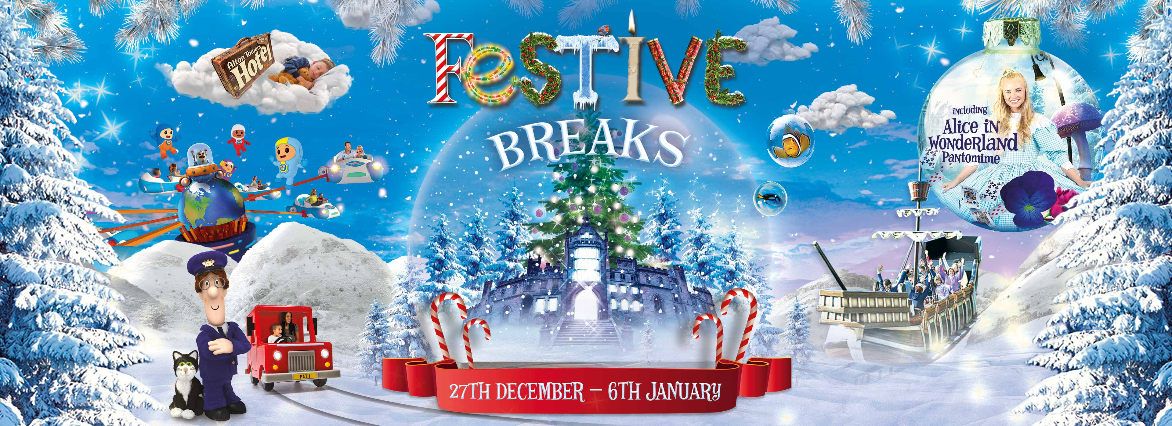 Festive Breaks 2018 at the Alton Towers Resort