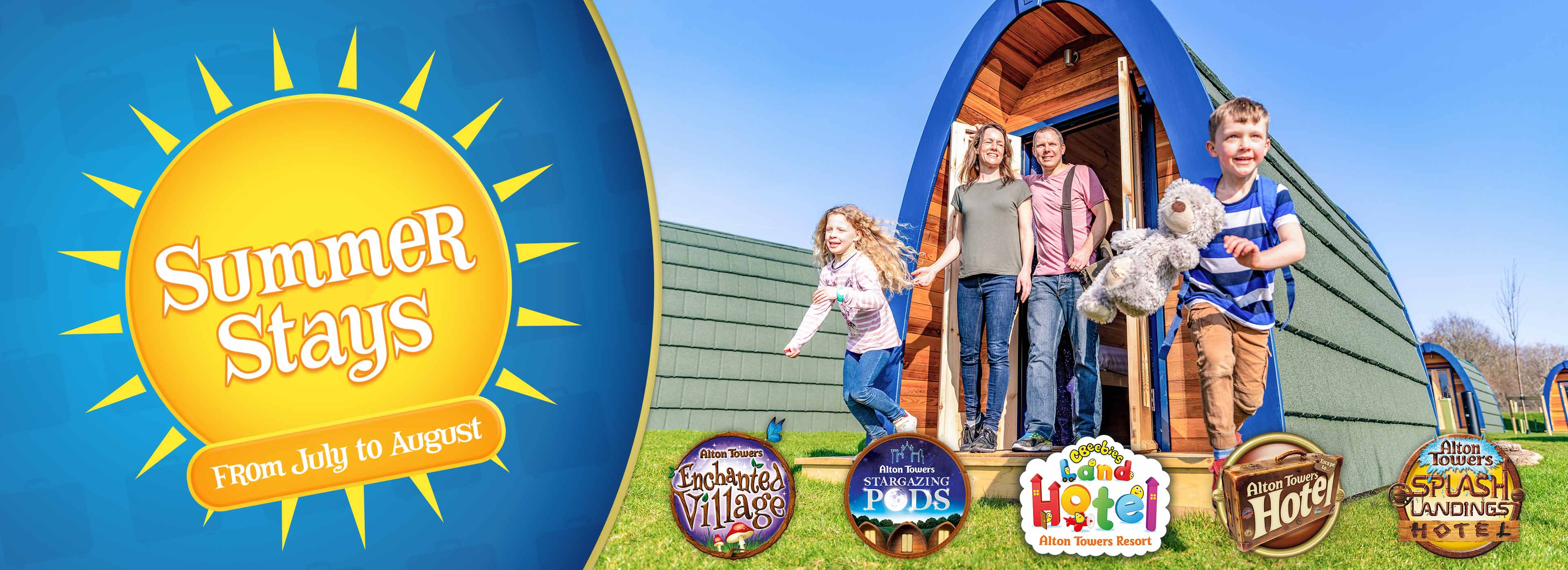 Summer Breaks with Alton Towers Holidays