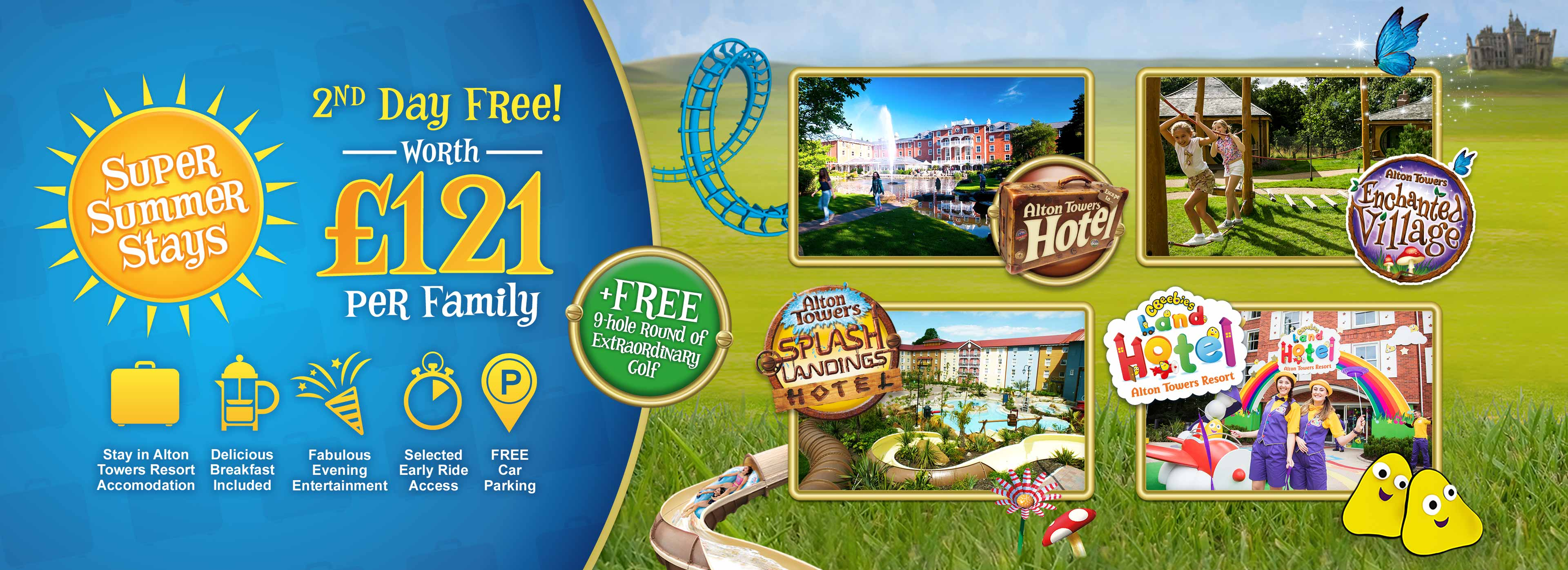 Super Summer Short Breaks at Alton Towers Resort