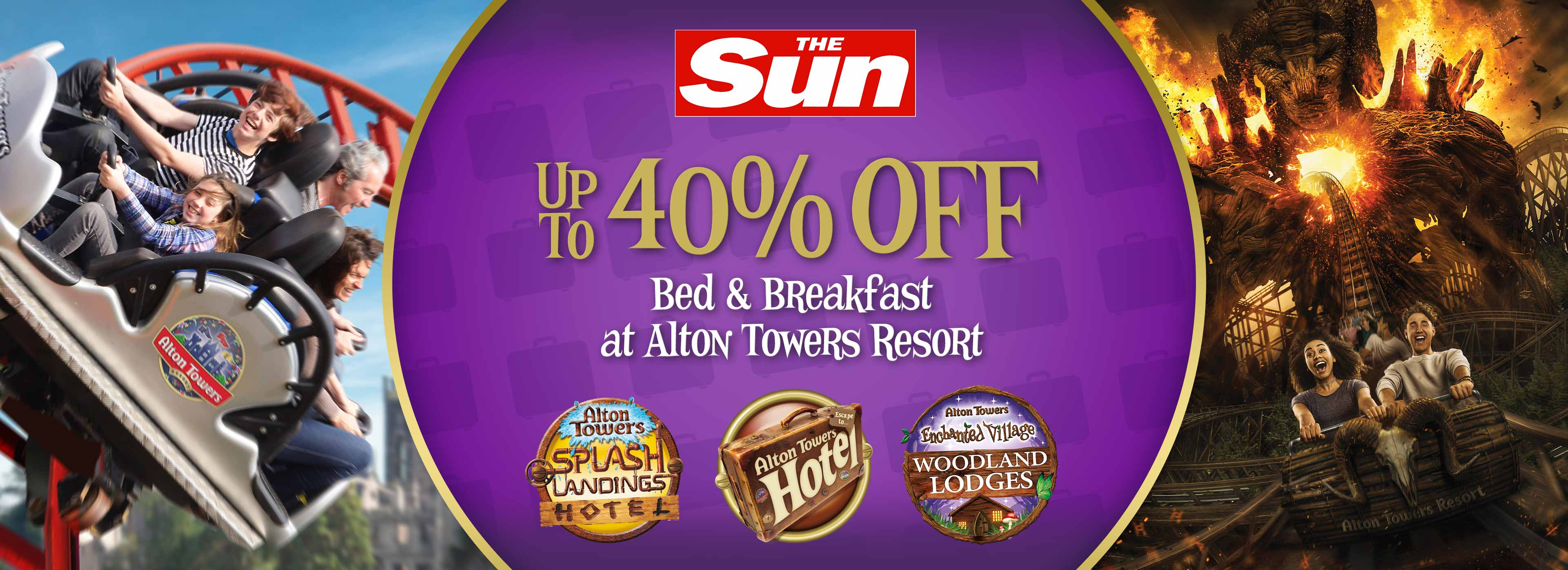 Save up to 40% with The Sun