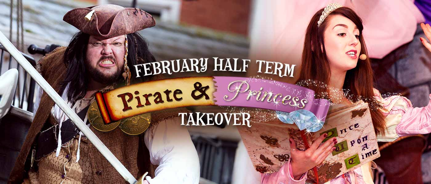 Pirate and Princess Takeover