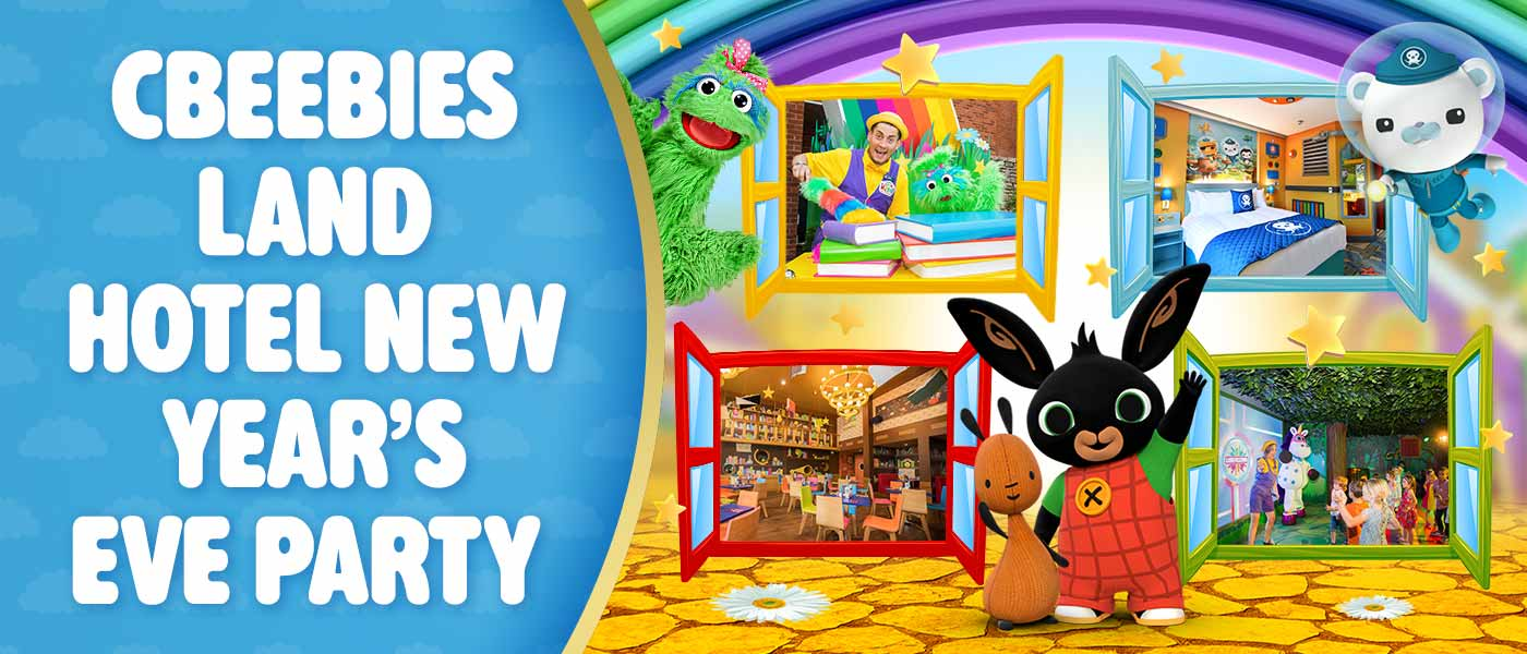 CBeebies New Year's Eve Party at Alton Towers Resort