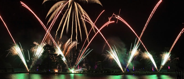 Fireworks event at Alton Towers Resort