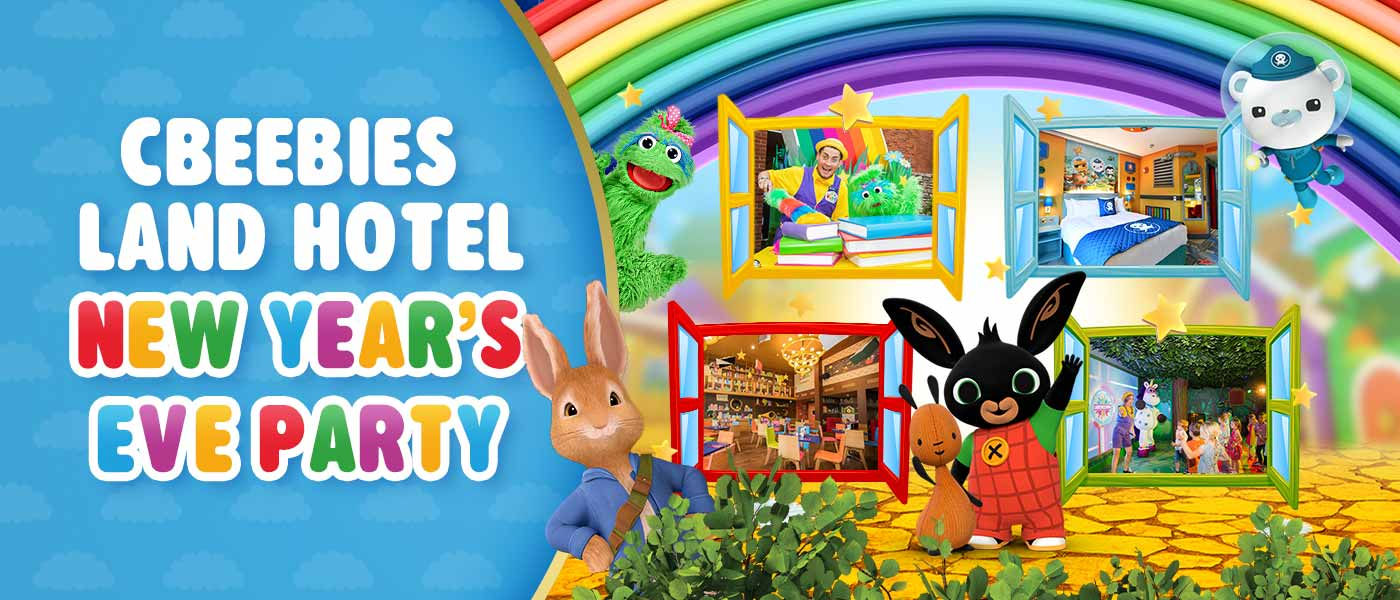 CBeebies Land Hotel New Year's Eve Party at Alton Towers Resort