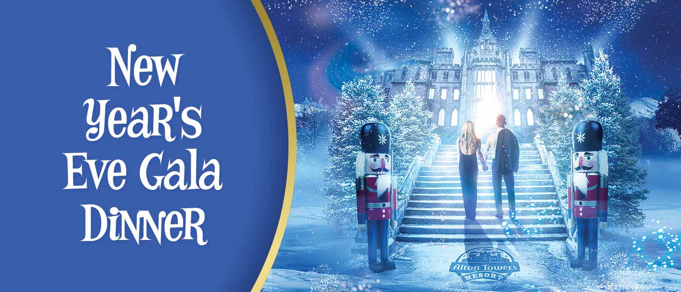 New Year's Eve Gala Dinner at Alton Towers Resort