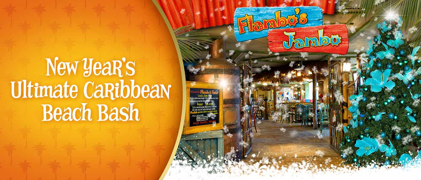 New Year's Ultimate Caribbean Beach Bash at Alton Towers Resort