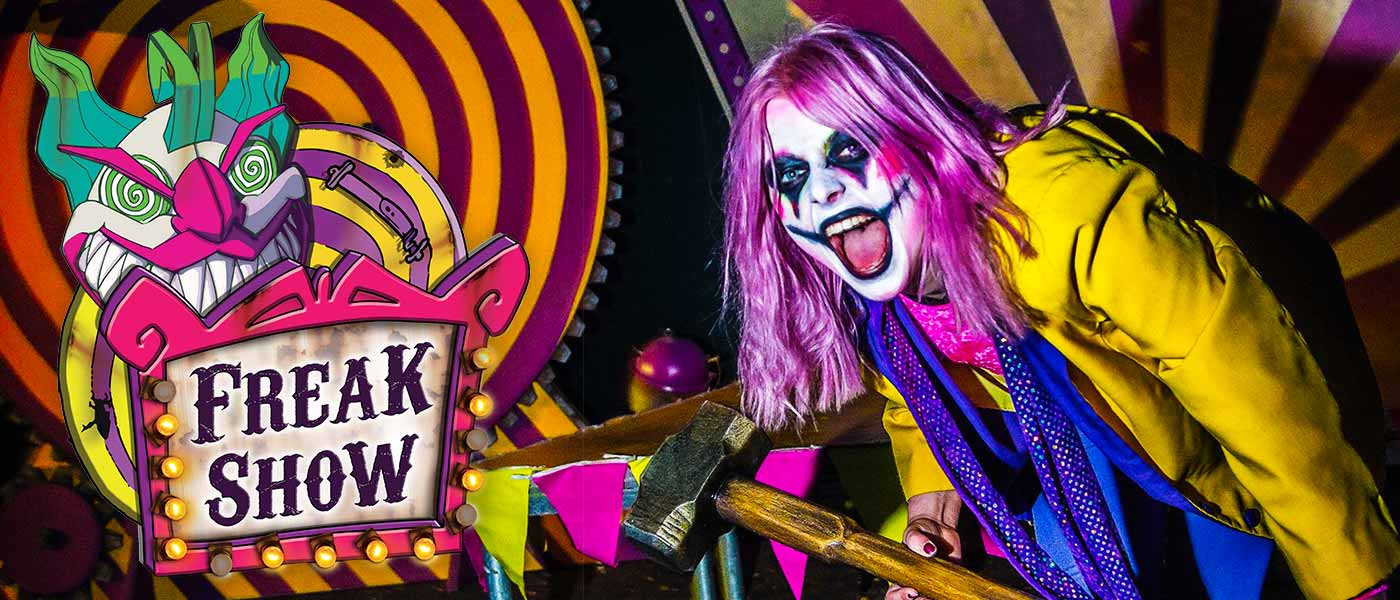 Freakshow at the Alton Towers Resort