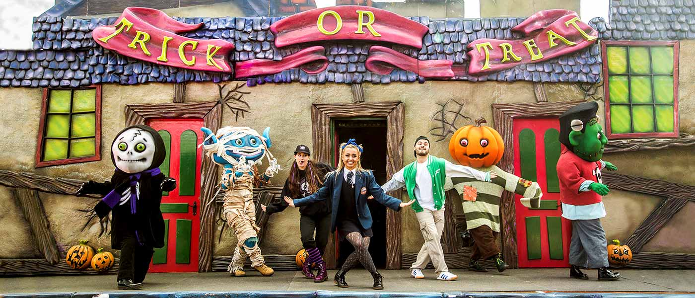 Patch's Trick or Treat Party at the Alton Towers Resort