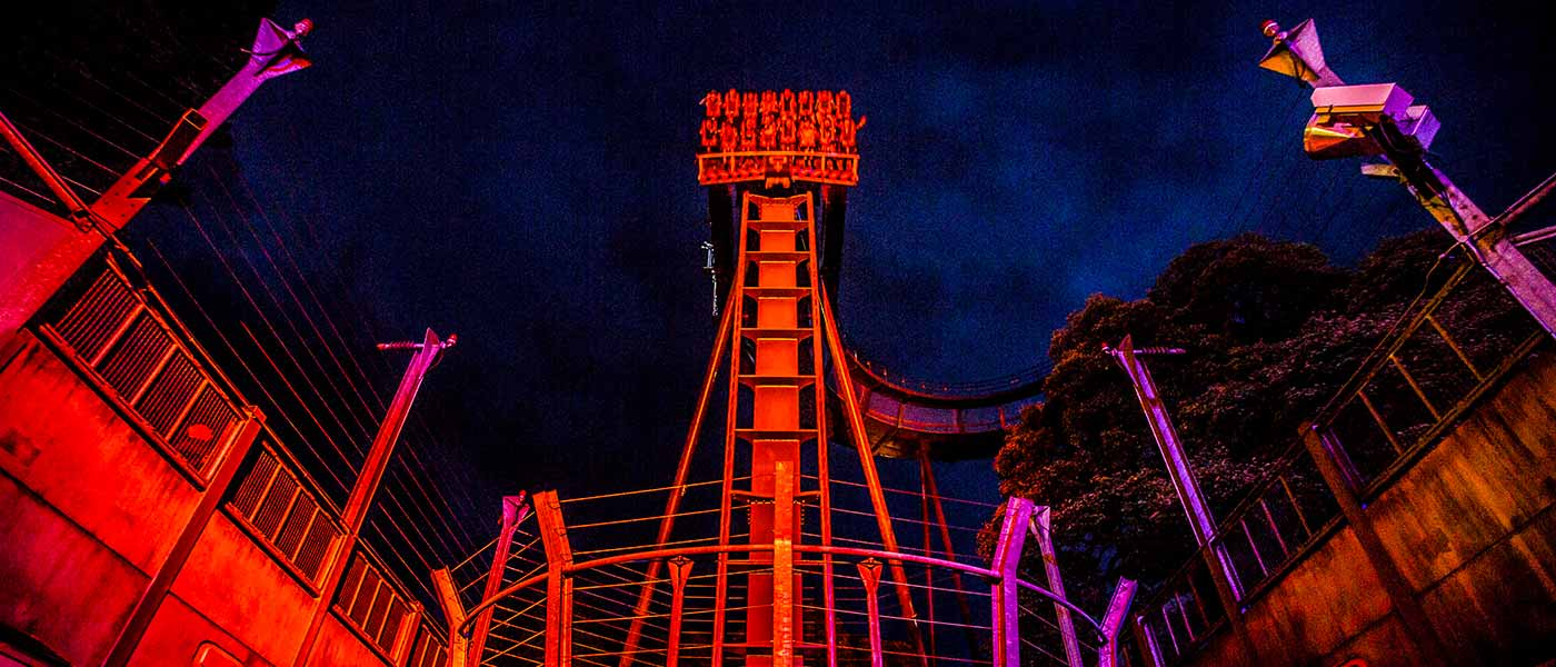 Rides After Dark at the Alton Towers Resort