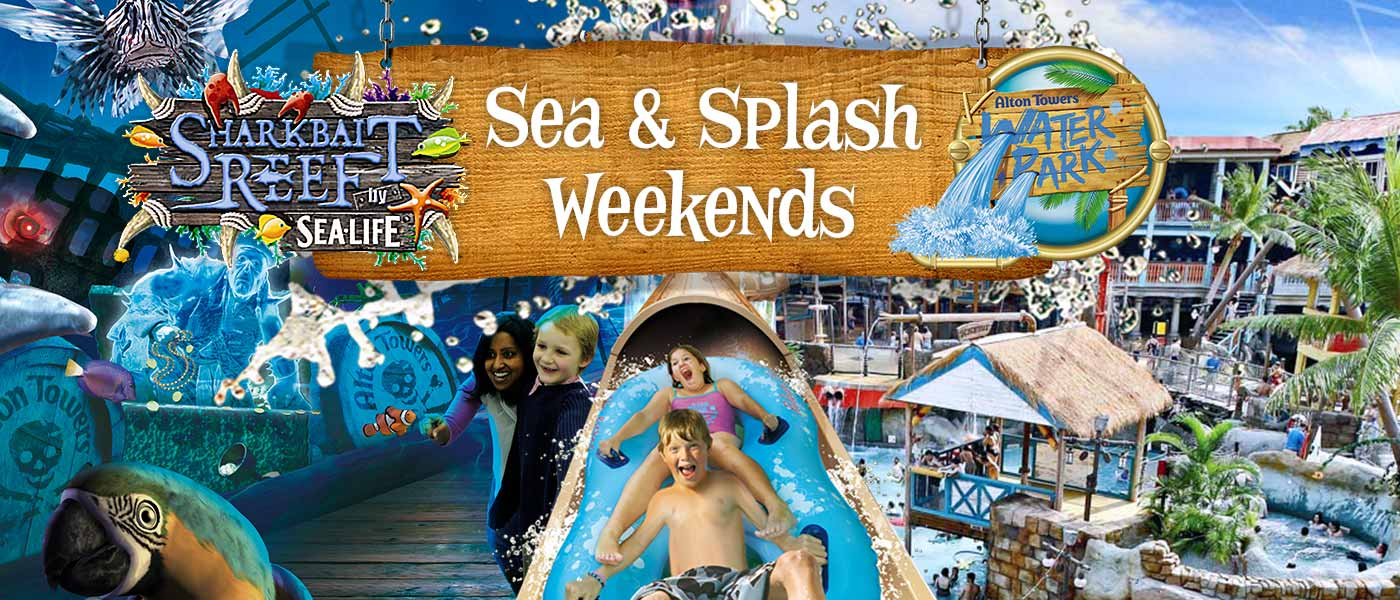 Sea and Splash weekends at the Alton Towers Resort