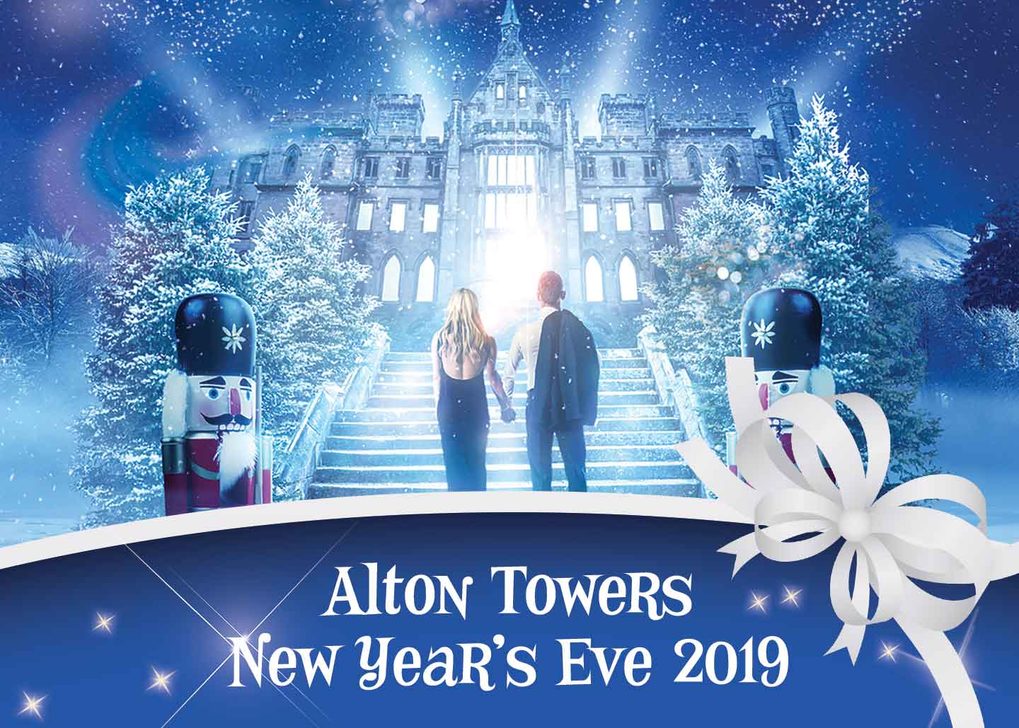 Ultimate 2019 New Year's Family Celebration at Alton Towers Resort