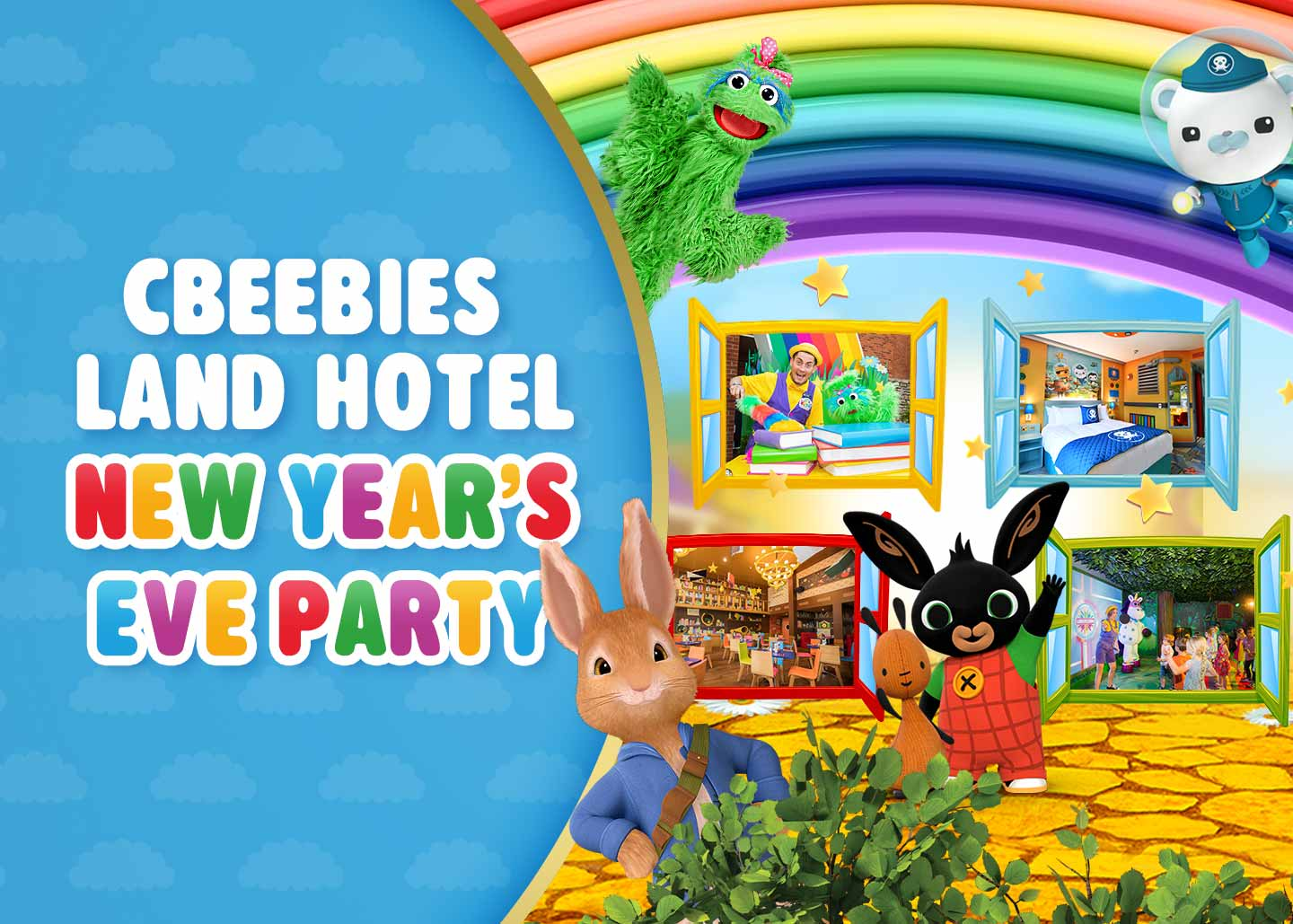 CBeebies Land Hotel New Year's Eve Party at the Alton Towers Resort