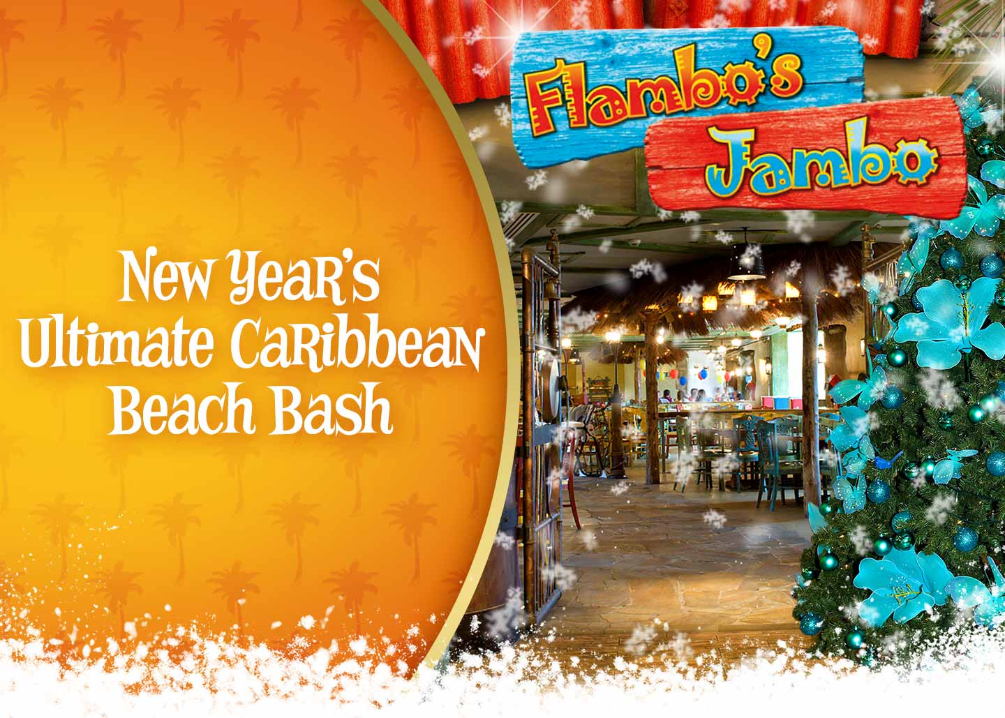 New Year's Ultimate Caribbean Beach Bash
