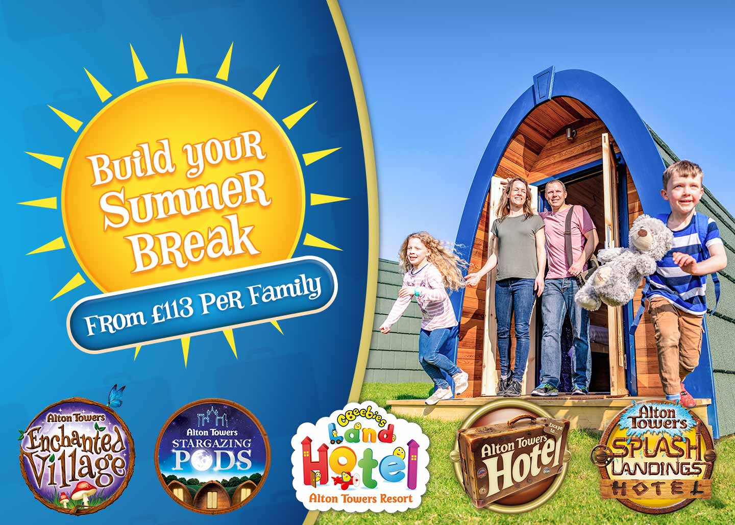Build your Summer Break with Alton Towers Holidays