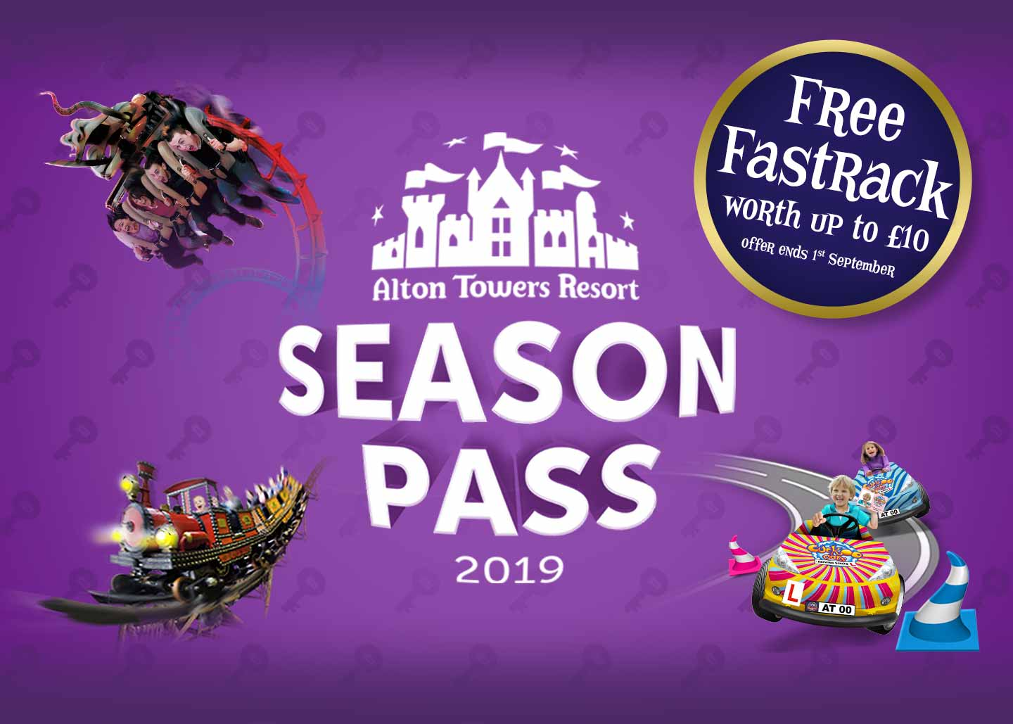 Standard Season Pass plus FREE Fastrack