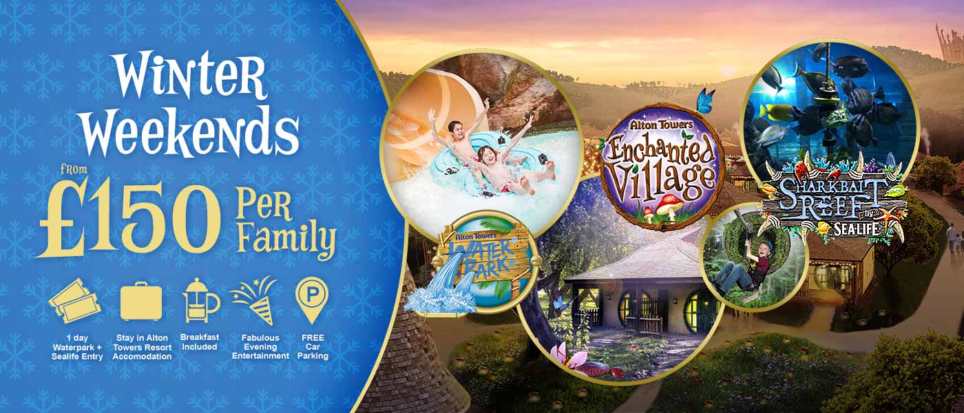 Winter Weekends at the Alton Towers Resort