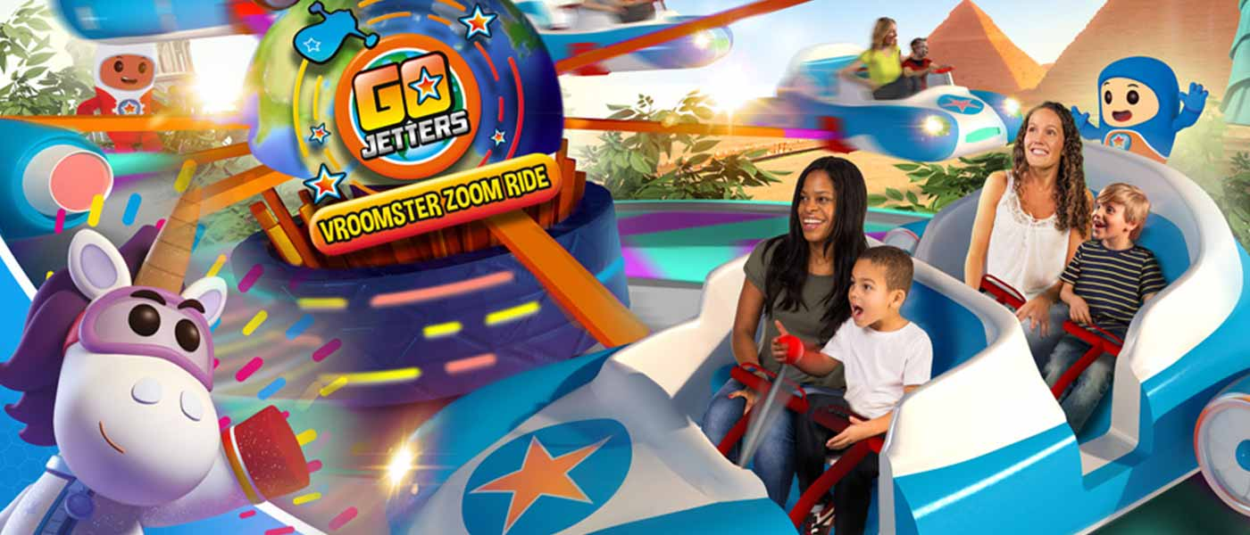 New for 2017 at Alton Towers - Go Jetters Vroomster Zoom
