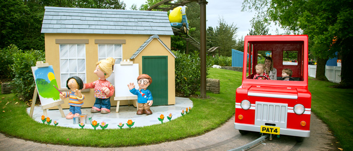Postman Pat Parcel Post at CBeebies Land Alton Towers