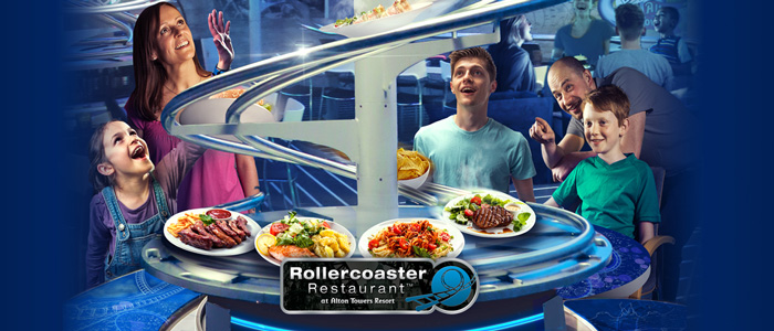 Rollercoaster Restaurant at the Alton Towers Resort