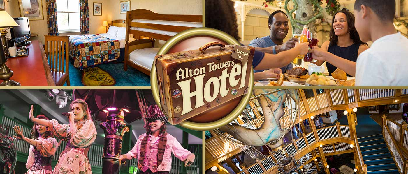 Scarefest at the Alton Towers Hotel