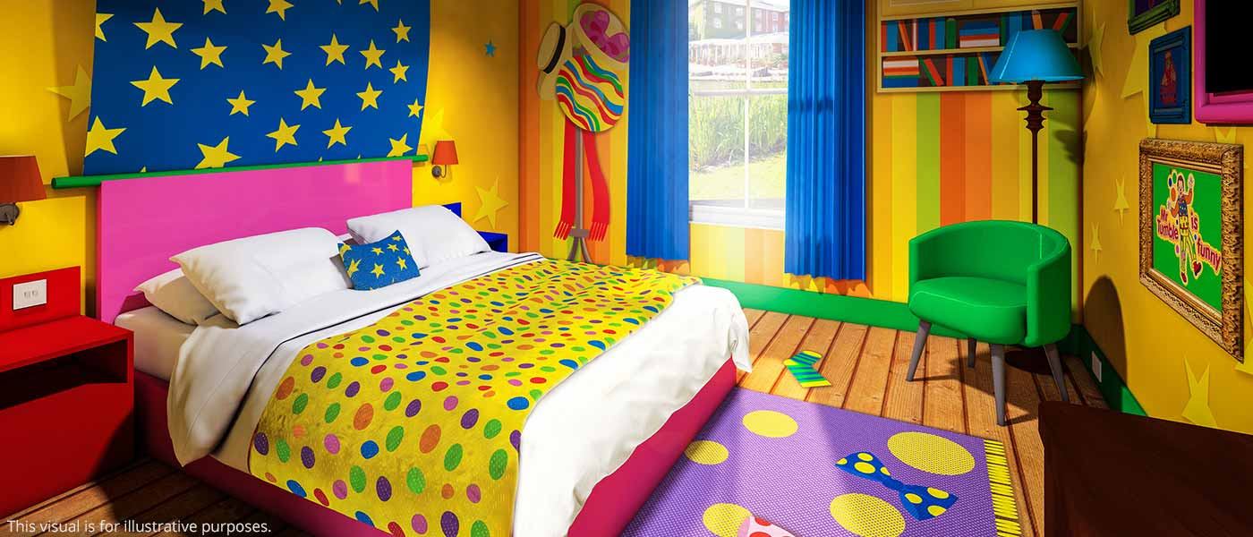 Cbeebies Hotel Rooms