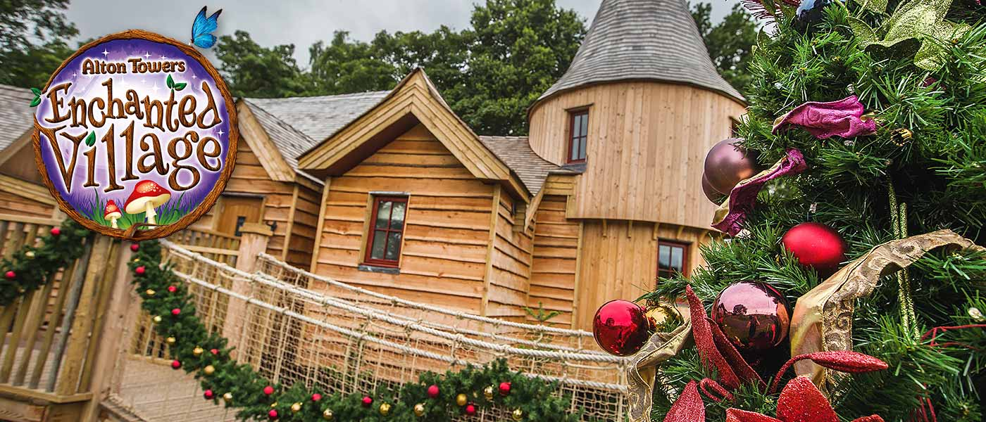Enchanted Village Treehouses at Alton Towers