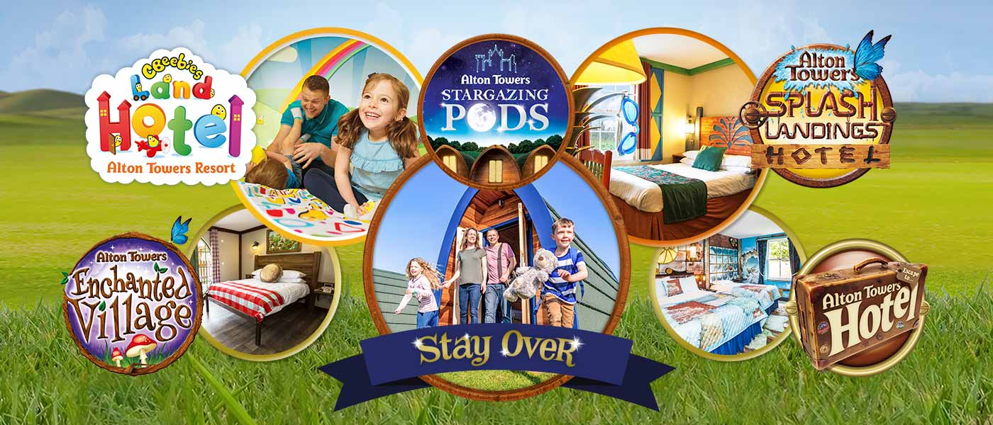 Resort Accommodation at Alton Towers Resort