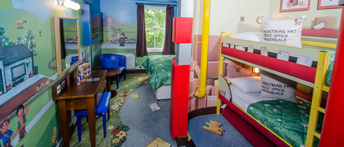 Postman Pat Rooms