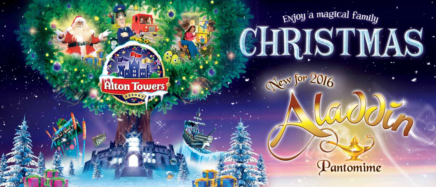 Alton Towers breaks